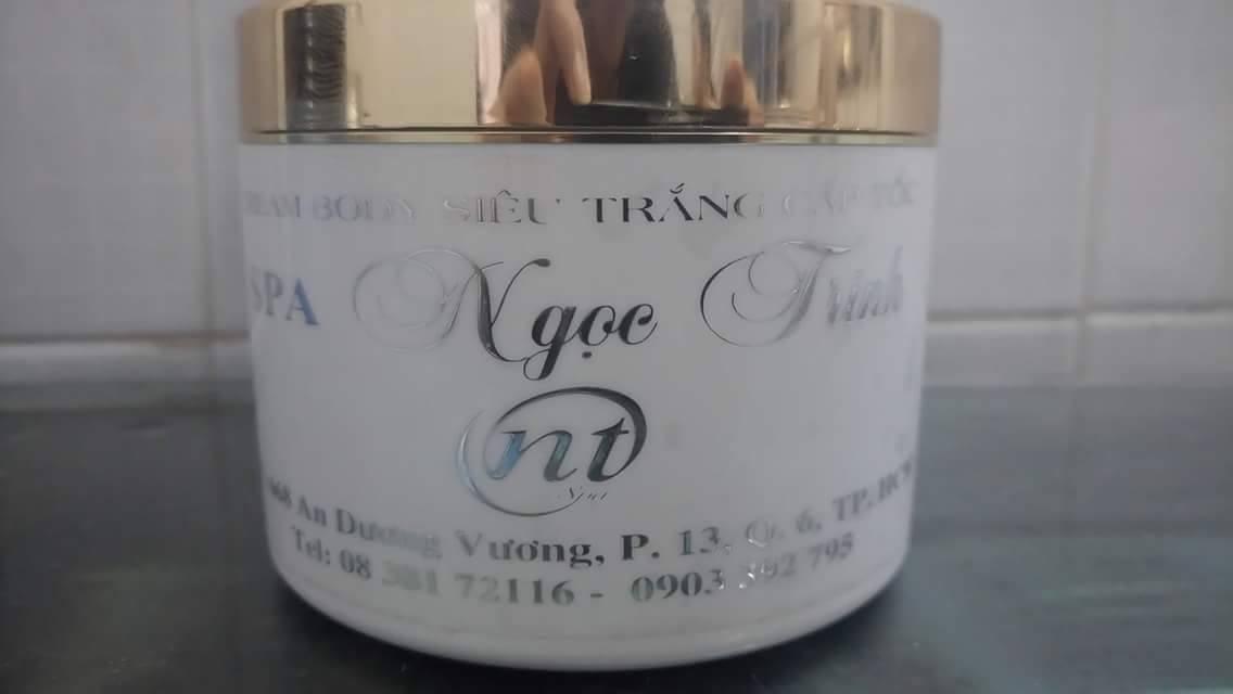 Kem dưỡng trắng da mặt trị nám chống lão hóa da  ngọc trinh spa - 9