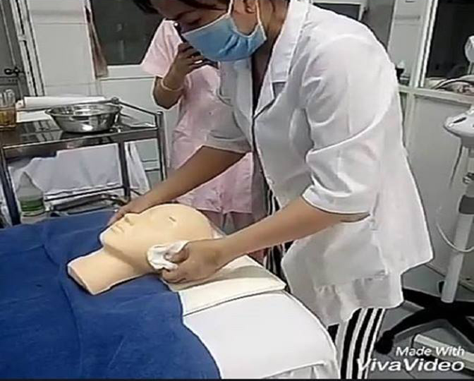 dạy nghề spa
