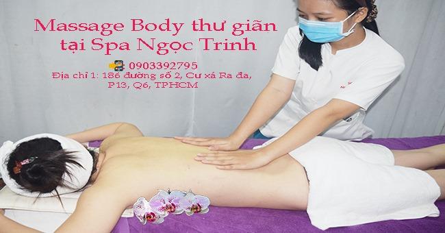 Dich Vụ Massage Toàn Thân