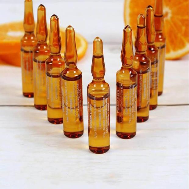 Vitamin C Làm Trắng Da Tự  Nhiên Tây Ban Nha